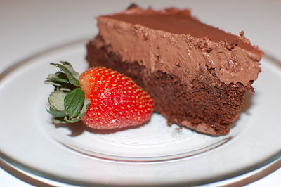 Chocolate Cake (with eggs) or Brownie Bites (no eggs)