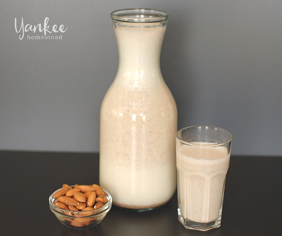 HOW TO MAKE ALMOND MILK 2