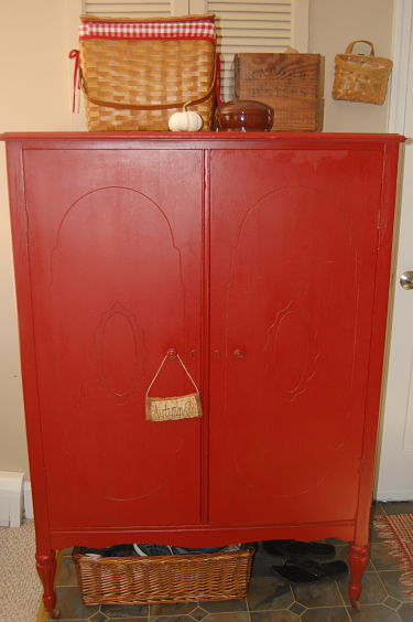 The Red Hutch: God's Grace and Backdoor Clutter