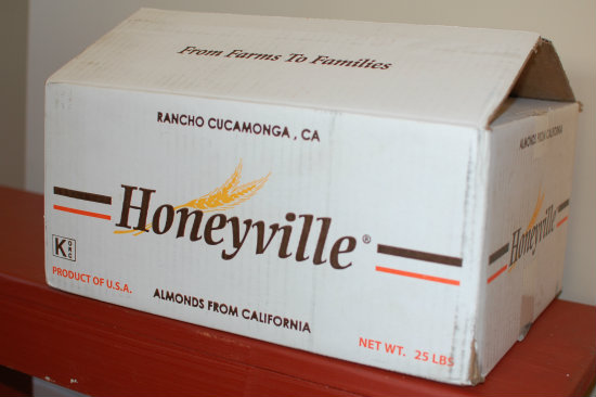almond flour from Honeyville Grains