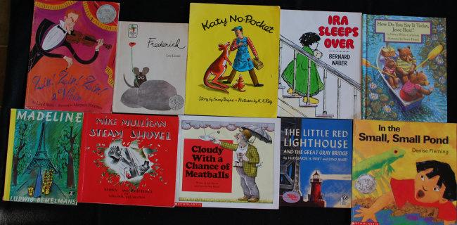 Giveaway: 10 Favorite Children's Books