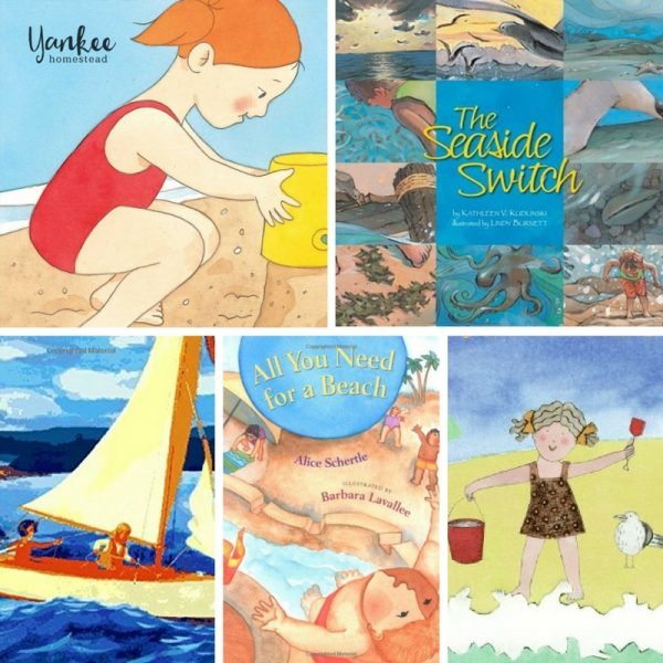 8 Favorite Children's Books About the Beach