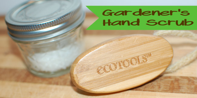 Easy Gardener's Hand Scrub {great gift idea}