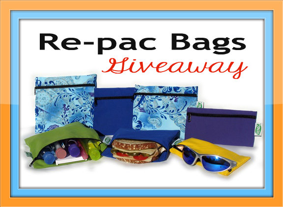 Giveaway: Re-pac Bags