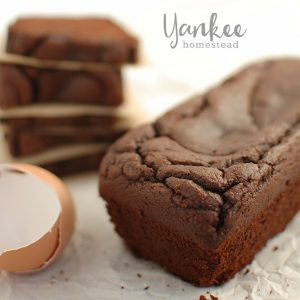 Paleo Chocolate Zucchini Bread | Yankee Homestead