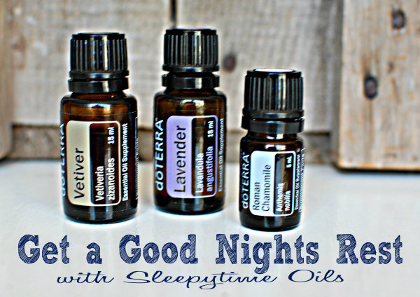 Essential Oils for Back to School: Get a Good Night's Rest with Sleepytime Oils