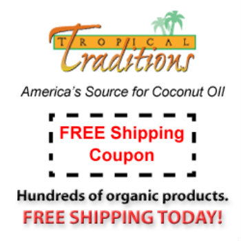 Free Shipping on All Things Coconut {Today Only}