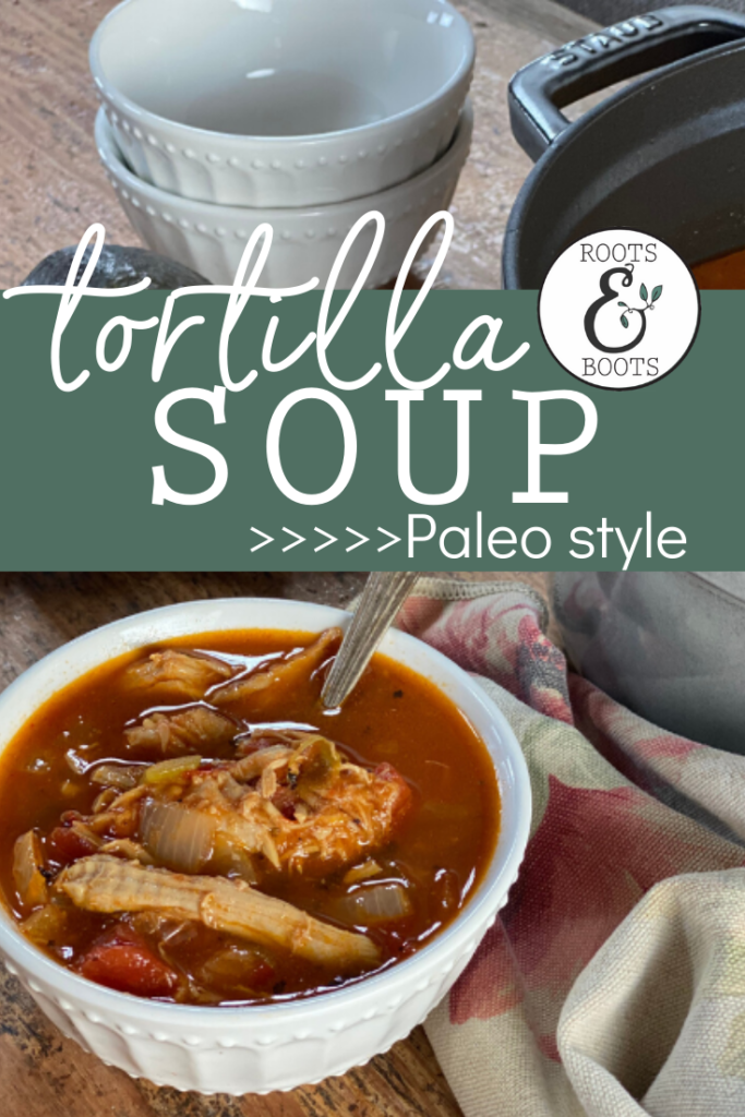Chicken Tortilla Soup | Roots & Boots