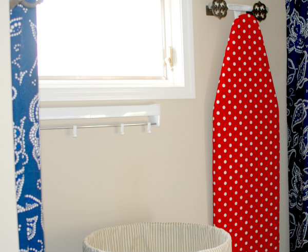 Laundry Room Makeover, Part 3: The System {The Drying Rack}