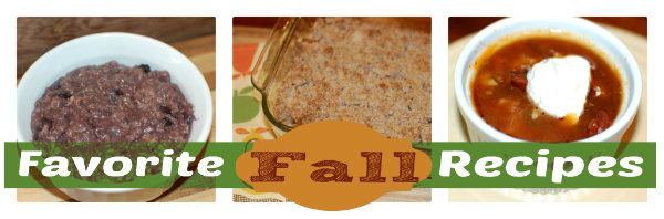 Favorite Fall Recipes {gluten-free}