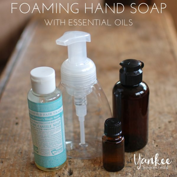 Foaming Hand Soap {with essential oils}