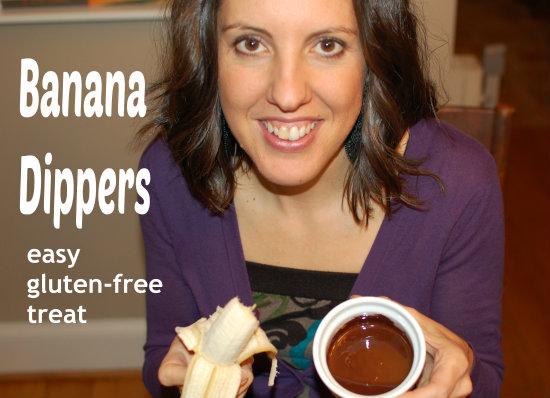 Banana Dippers: Easy Gluten-Free Dessert