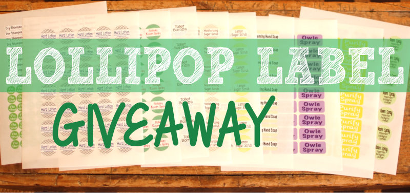 Lollipop Label Giveaway