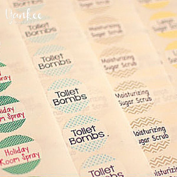 Announcing: Special Deal on Custom Waterproof Labels {for All Your DIY Needs}
