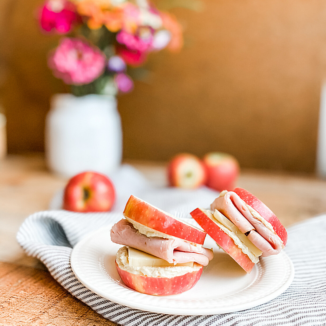 Apple Sandwiches | Roots & Boots
