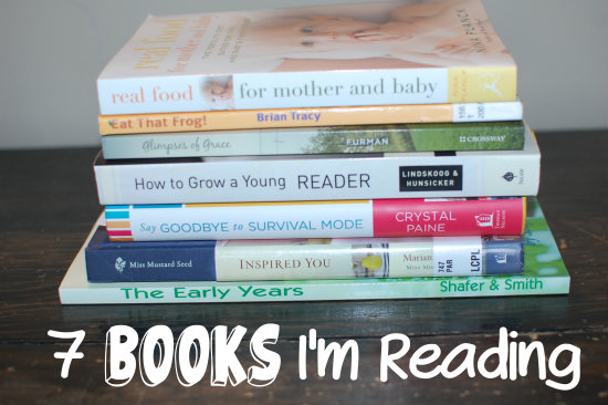 7 Books I'm Reading This Spring