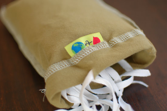 For the Love of Earth Reusable Produce Bags in Pouch