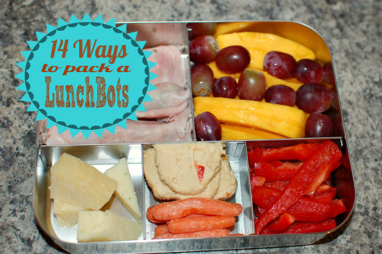 14 Ways to Pack a LunchBots
