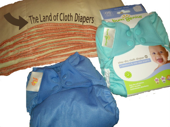 Entering the Land of Cloth Diapers