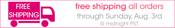 Free Shipping on My Favorite Make-up {ends Sunday}