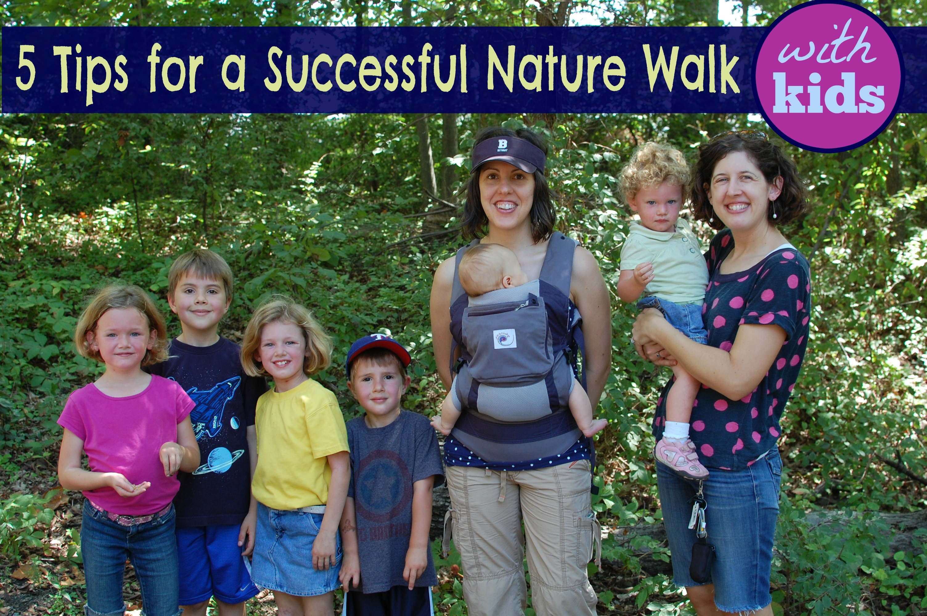 5 Tips for a Successful Nature Walk with Kids {#1 Find a Buddy}