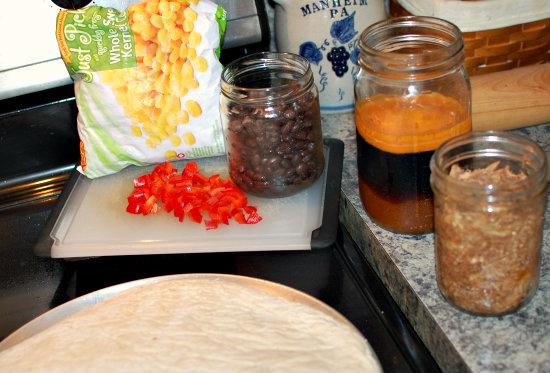 BBQ Chicken Pizza ingredients   Yankeehomestead.com