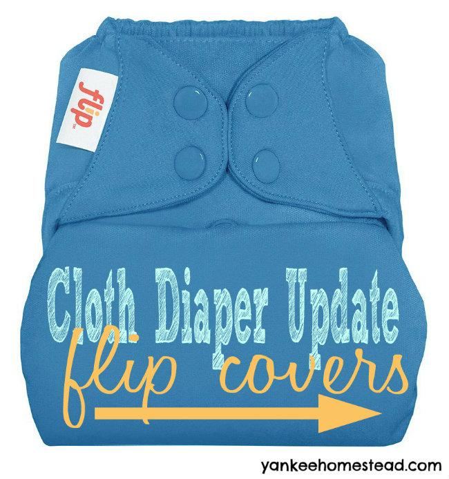 Cloth Diaper Update: Flip Diaper Covers