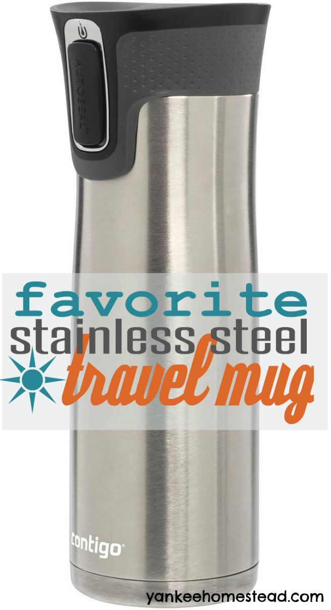 My Favorite Stainless Steel Travel Mug