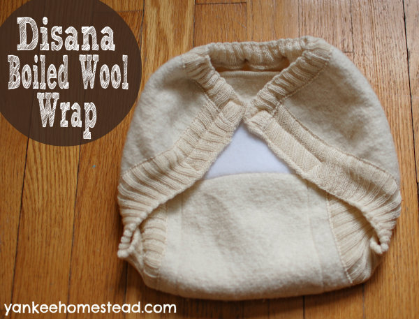 Cloth Diapering with Wool: Disana Boiled Wool Wrap
