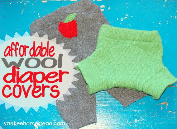 Affordable Wool Diaper Covers| Yankeehomestead.com