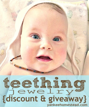Hazelaid Teething Jewelry {Discount & Giveaway}