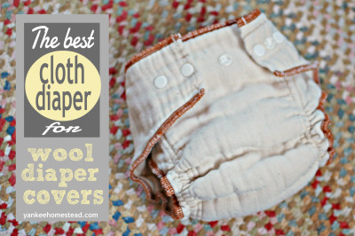 The Best Cloth Diaper for Wool Diaper Covers