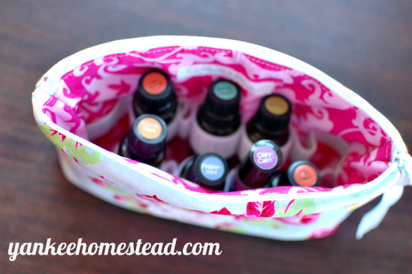 Discount: Essential Oils Storage Bag! | Yankee Homestead