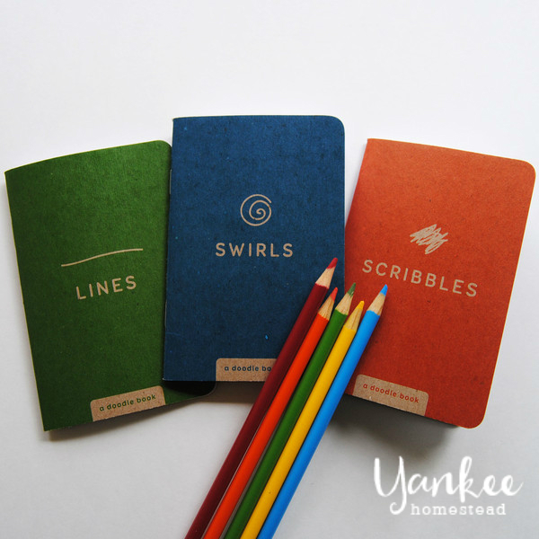 Doodle Books for Creativity On the Go