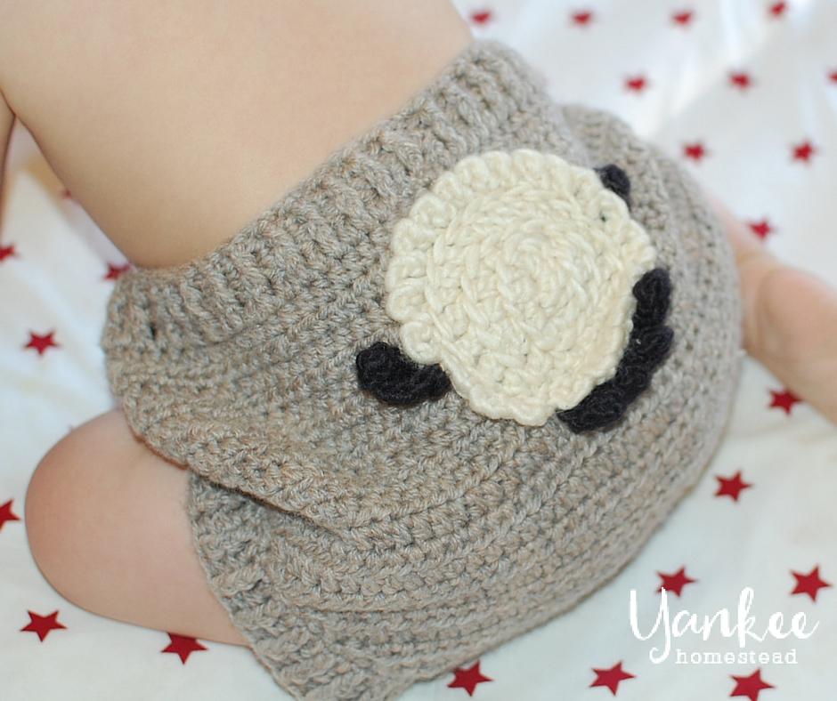 Patsycake Baby Wool Crochet Diaper Cover | Yankee Homestead