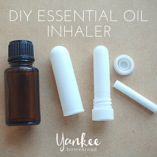 DIY Essential Oil Inhaler