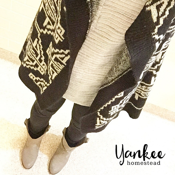 My Capsule Wardrobe Project | Yankee Homestead