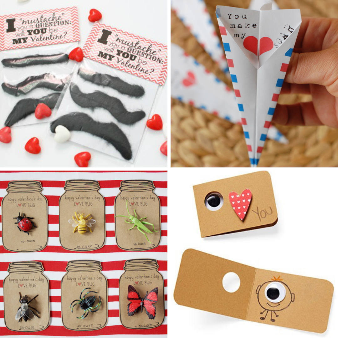 15 Boy-Friendly Non-Candy Valentines | Roots & Boots