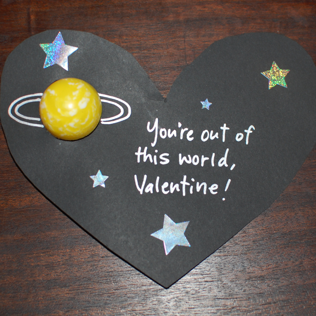 You're out of this world valentine | Roots & Boots