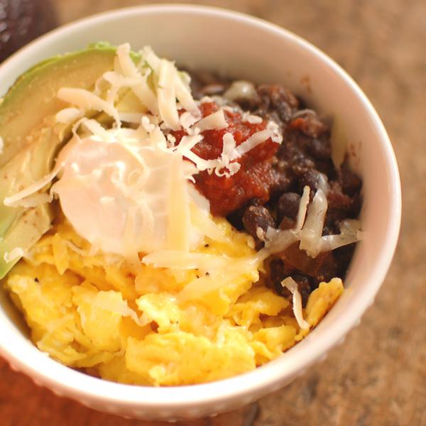 Mexican Eggs Breakfast Bowl