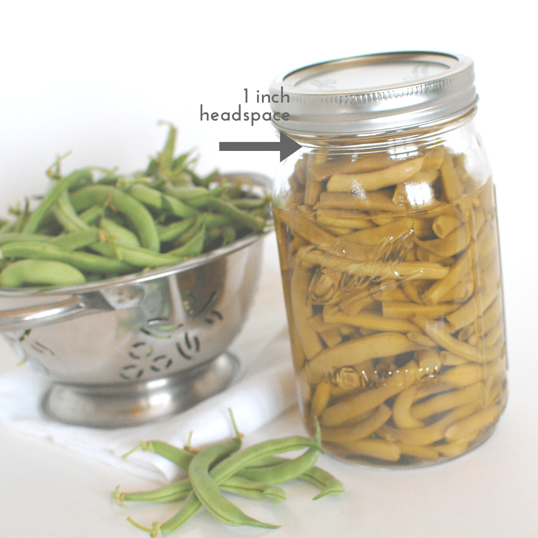 How To Can Green Beans | Roots & Boots