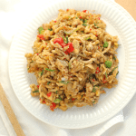 Plantain Fried Rice | Roots & Boots