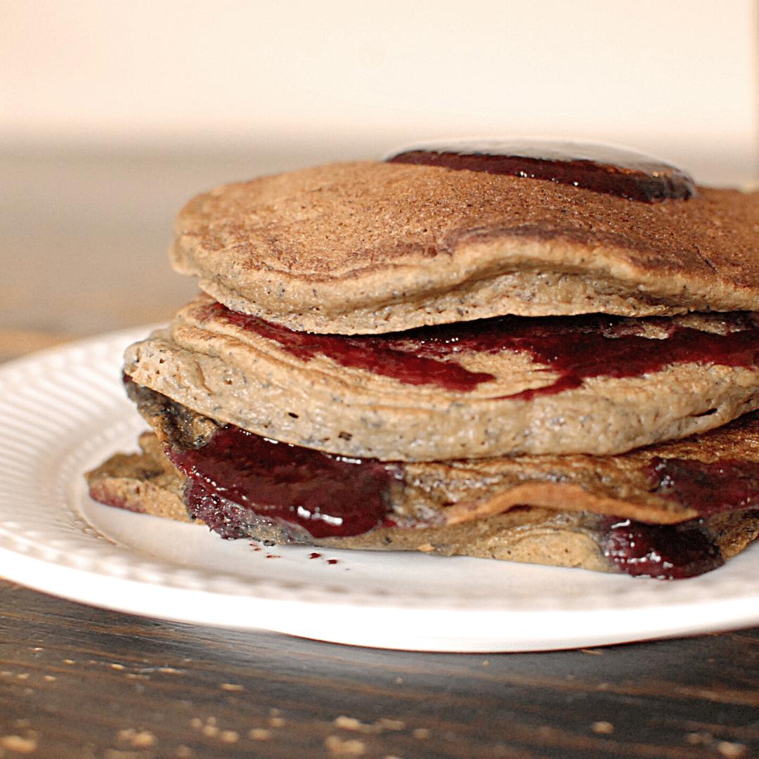 Paleo Plantain Pancakes | Roots & Boots