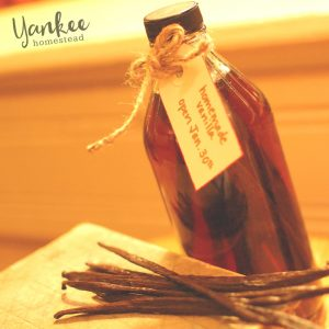 Homemade Vanilla Extract | Yankee Homestead