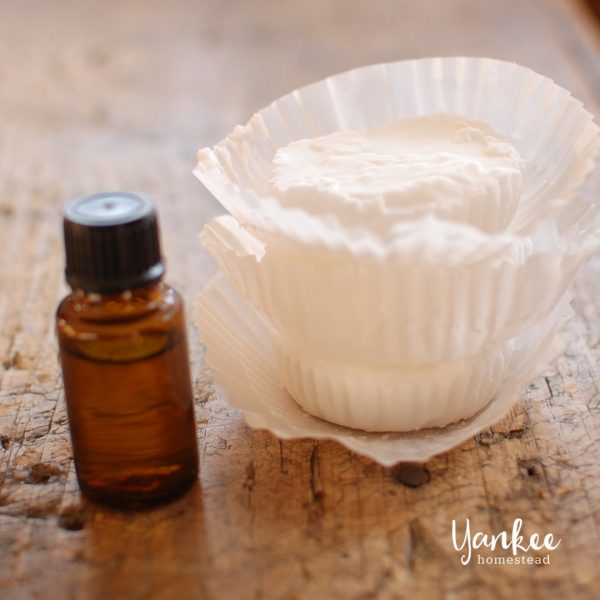 Homemade Shower Vapor Disks with Essential Oils