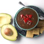 Hearty Black Bean Salsa Soup