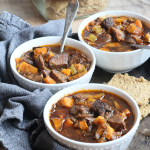 Paleo Beef and Veggie Soup | Yankee Homestead