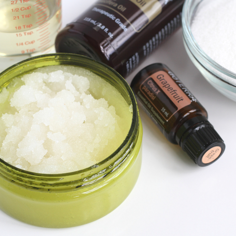 Scoopable DIY Sugar Scrub | Roots & Boots