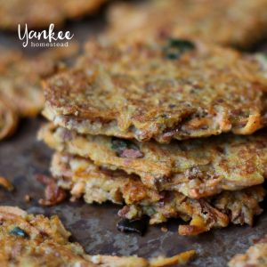 Paleo Sweet Potato Cakes | Yankee Homestead