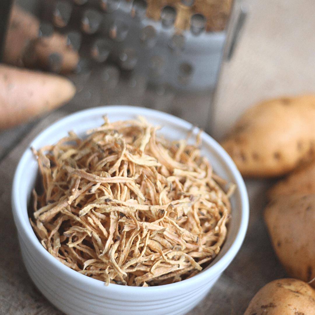 Paleo Sweet Potato Crispies | Yankee Homestead